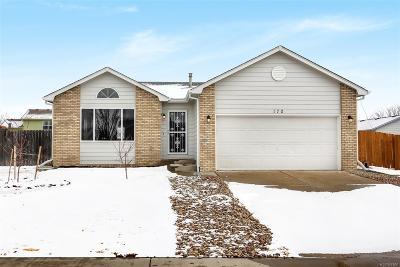 Keenesburg Single Family Home Under Contract: 170 Lambert Street
