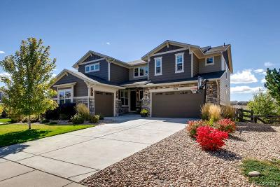 Aurora Single Family Home Under Contract: 7589 South Gold Bug Court