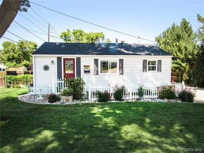 Littleton Single Family Home Active: 1743 West Weaver Avenue