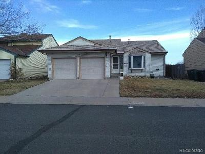 Thornton CO Single Family Home Under Contract: $300,000