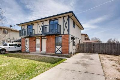Commerce City Condo/Townhouse Under Contract: 6330 East 78th Avenue