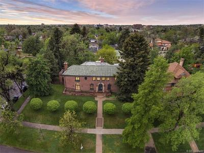 Denver CO Single Family Home Sold: $1,755,000