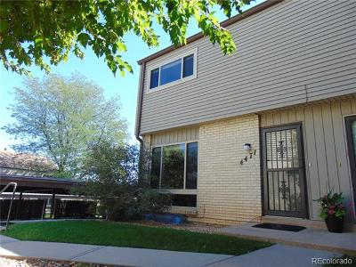 Littleton CO Condo/Townhouse Active: $319,900