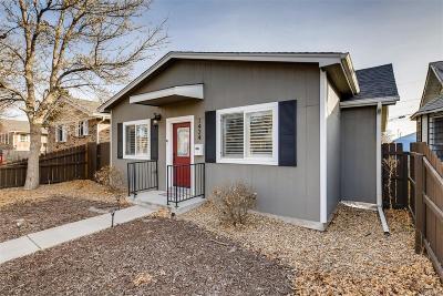 Denver Single Family Home Under Contract: 1424 Tamarac Street