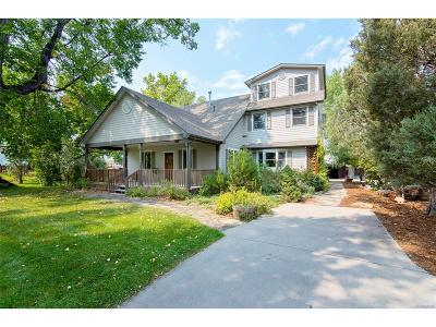 Boulder CO Single Family Home Active: $1,649,000
