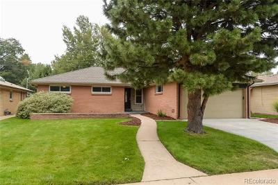 Denver Single Family Home Active: 346 South Newport Way