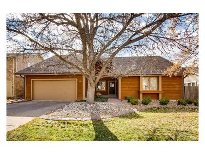 Centennial Single Family Home Under Contract: 7684 South Emerson Circle