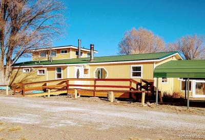 Saguache County Single Family Home Active