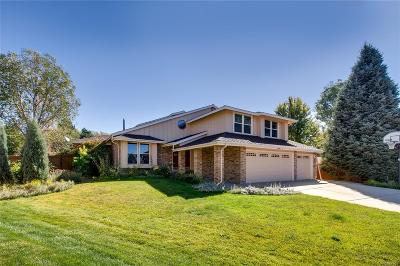 Centennial Single Family Home Active: 16685 East Dorado Avenue
