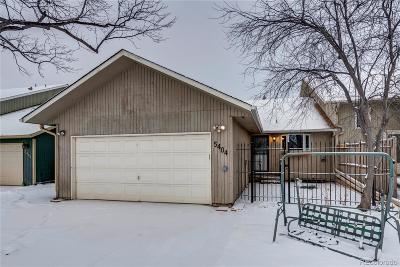 Fort Collins Condo/Townhouse Under Contract: 5404 Fossil Court