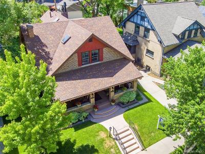 Denver Single Family Home Active: 947 South Corona Street