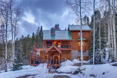 Leadville Single Family Home Under Contract: 255 Buckeye Creek Road