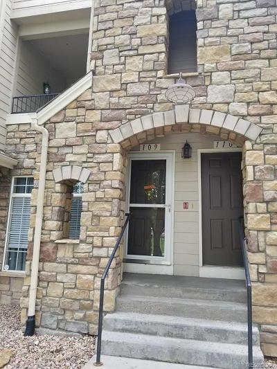 Aurora Condo/Townhouse Active: 1520 South Florence Way #109