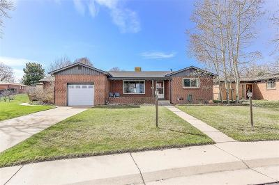 Wheat Ridge Single Family Home Under Contract: 6220 West 43rd Avenue