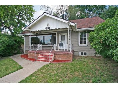 Single Family Home Sold: 2555 Sheridan Boulevard