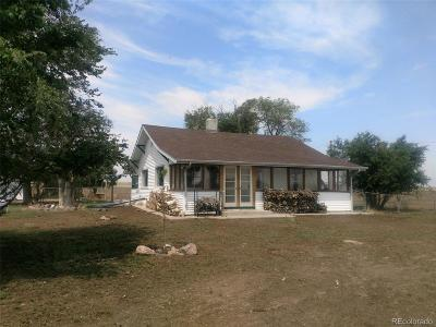 Keenesburg Single Family Home Under Contract: 9561 County Road 51