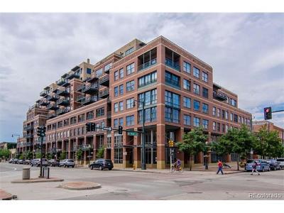 Denver Condo/Townhouse Active: 1499 Blake Street #3K