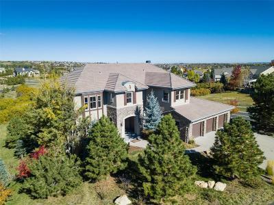 Castle Rock Single Family Home Active: 6141 Large Oak Court