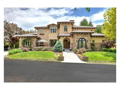 Centennial, Cherry Hills Village, Englewood, Greenwood Village, Littleton, Highlands Ranch, Castle Pines, Castle Pines N, Lone Tree Single Family Home Active: 12 Foxtail Circle