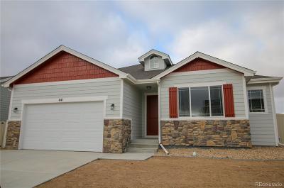 Ault Single Family Home Active: 641 Cimarron Trail