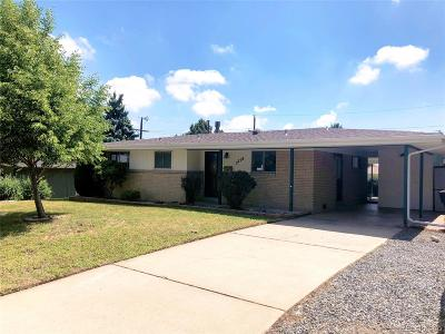 Denver Single Family Home Active: 2718 South Patton Court