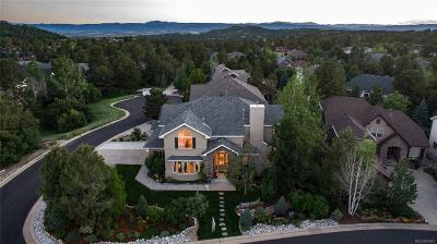 Castle Pines Single Family Home Under Contract: 923 Greenway Lane