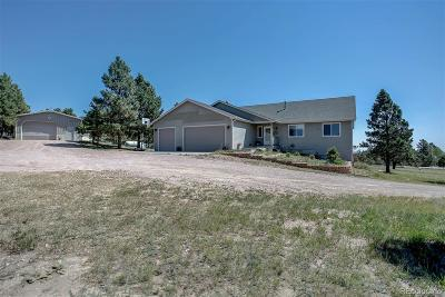 Kiowa Single Family Home Active: 27521 East Broadview Drive