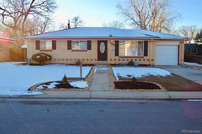 Aurora Single Family Home Active: 3165 Wheeling Street