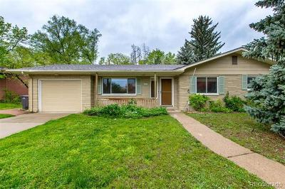 Boulder Single Family Home Active: 3455 17th Street