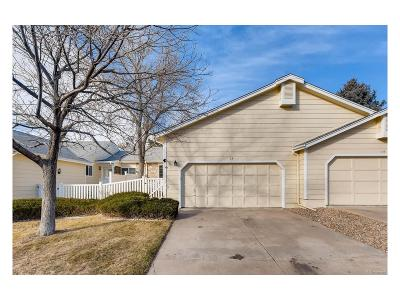 Highlands Ranch, Lone Tree Condo/Townhouse Under Contract: 13 Shetland Court
