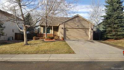 Centennial Single Family Home Active: 21539 East Crestridge Place