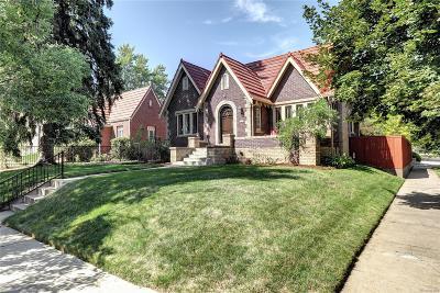 Denver CO Single Family Home Active: $823,000
