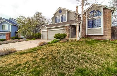 Littleton Single Family Home Active: 4827 South Quail Way