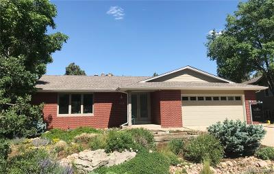 Golden Single Family Home Under Contract: 1957 Sage Circle