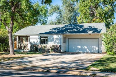 Denver Single Family Home Under Contract: 1615 South Wolcott Court
