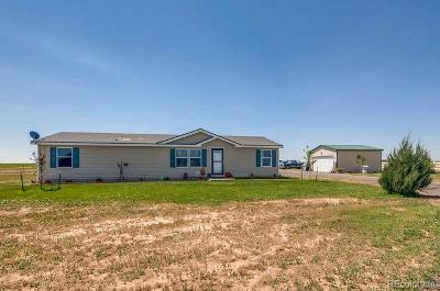 Keenesburg Single Family Home Active: 34500 Highway 52