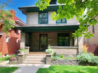 Denver Single Family Home Active: 1320 Steele Street