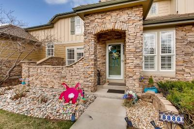 Highlands Ranch Condo/Townhouse Under Contract: 8888 Tappy Toorie Circle