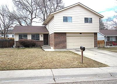 Arvada Single Family Home Active: 6443 Zang Court