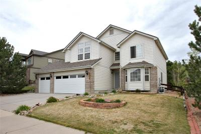 Castle Rock Single Family Home Under Contract: 1327 Rosemary Drive