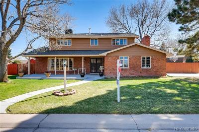 Littleton Single Family Home Active: 6394 West Rowland Avenue