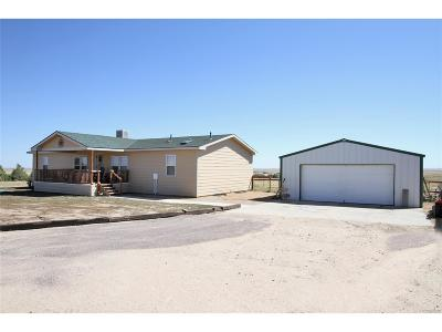 Arapahoe County Single Family Home Active: 60200 East County Road 30