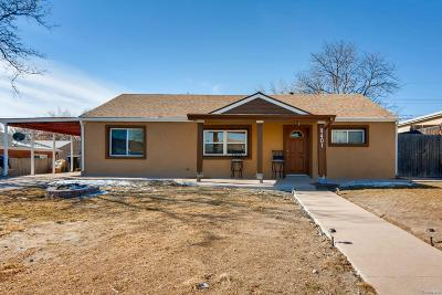 Thornton Single Family Home Under Contract: 9401 Rose Court
