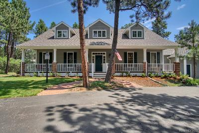 Monument Single Family Home Under Contract: 470 Congressional Drive