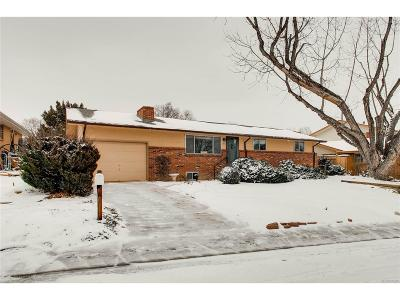 Longmont Single Family Home Under Contract: 1512 Frontier Street