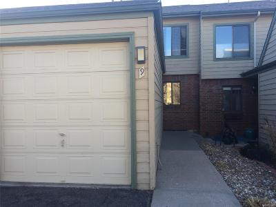 Lakewood Condo/Townhouse Under Contract: 3697 South Depew Street #9