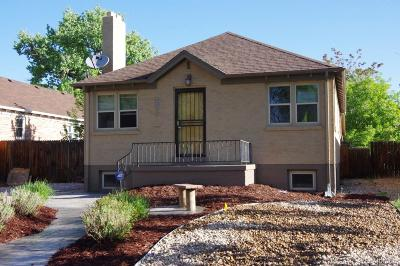 Denver CO Single Family Home Active: $585,000