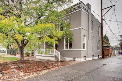 Denver Condo/Townhouse Under Contract: 117 East 3rd Avenue
