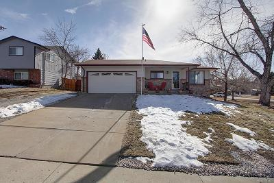 Littleton Single Family Home Under Contract: 568 Apollo Court