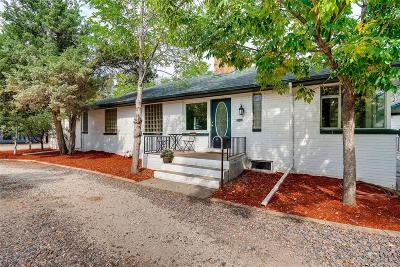 Wheat Ridge Single Family Home Under Contract: 7475 West 48th Avenue